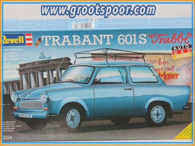 Revell 7334 Trabant 601S Modellbausatz 1:24