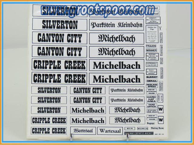 Stickervel 059 Silverton Michelbach 0907-90-00