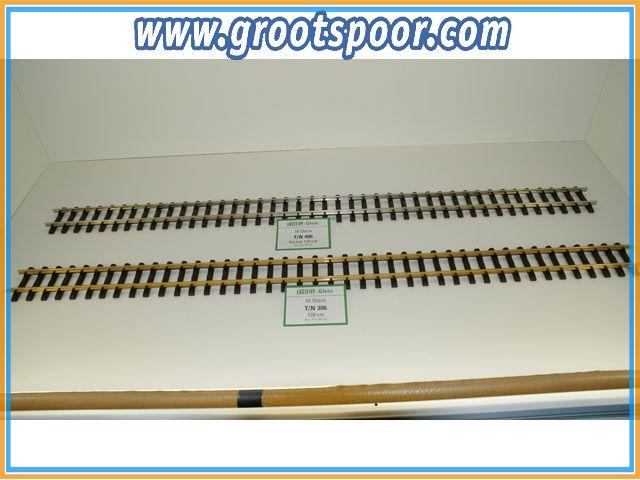 THIEL 406 Fertig-Gleise 120cm Nickel