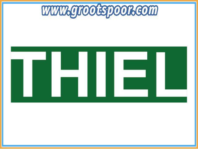 THIEL 407 Fertig-Gleise 200cm Nickel