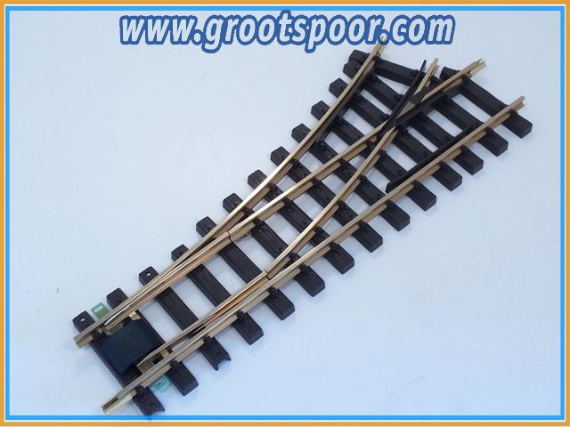 TRAINLINE45 1020955 Weiche R 90cm links, ohne Antrieb