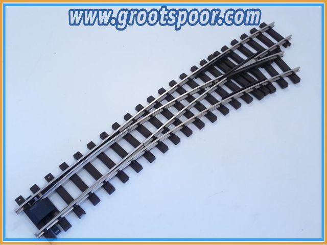 TRAINLINE45 1042265 Nickel Bogenweiche R 120/210cm rechts, ohne Antrieb