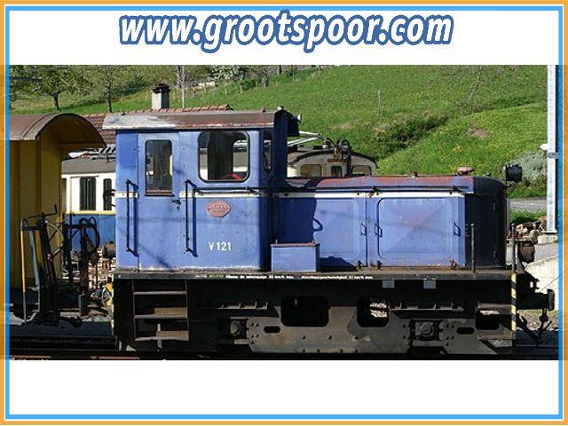 TRAINLINE45 2021202 Diesellok V 121 MOB DCC, Sound (Massoth)
