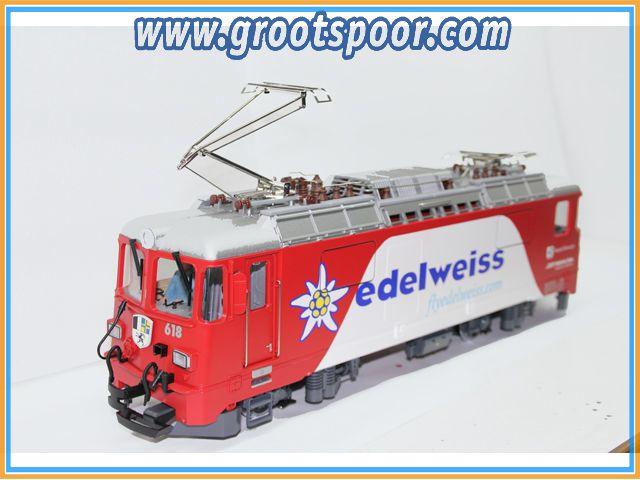 GS  LGB RHB Edelweis GE 4/4 II 618 Umlakierung