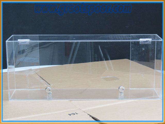 Display vitrine Kast 63 x 15 x 25 cm