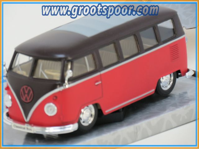 Welly 22095 VW Classical Bus 1962