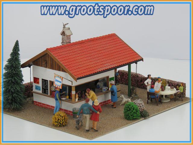 Kleinserie Fabricaat imbiss diorama