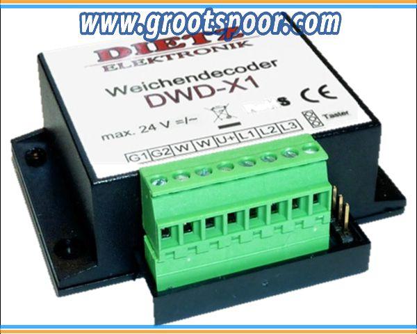DIETZ DWD-X1 Weichendecoder