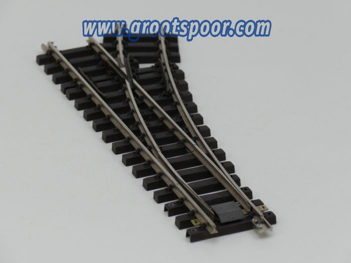TRAINLINE45 1041265 Nickel Weiche R 120cm rechts, ohne Antrieb