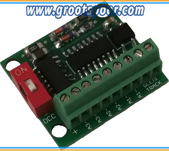 MD4202 USD (6 Kanal Schaltdecoder, 18 Effekte, SDF (Kirmes, Lauflichter, belebtes Haus, uvm) DCC/MM