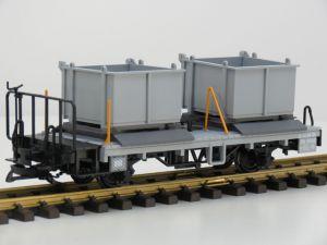 LGB 40140 RhB-Kehrichtwagen Xk 9040, Vitrinemodel