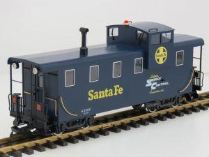 LGB 43710 Santa-Fe Caboose MetallRader