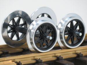 LGB 67320 Met.-Doppelspeichenrads.2St. gebruikt