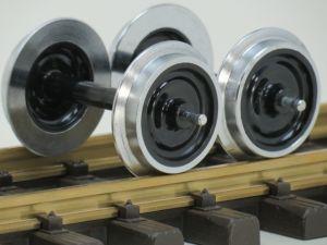 LGB 67419 Metall-Scheibenradsatz, 2St. Gebruikt