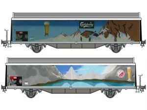 Schaal Spoor 1 Kiss 560 213  SBB Schiebewandwagen Hbis/Hbils