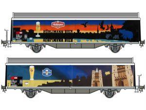 Schaal Spoor 1 Kiss 560 211  SBB Schiebewandwagen Hbis/Hbils