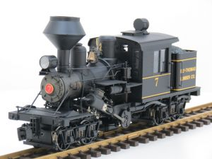 Bachmann 81184 Ely- Thomas Lumber CO. No 7 Class B  25 Ton Climax