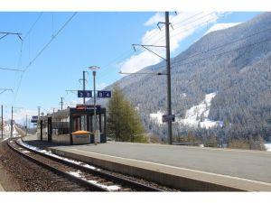 GSmm Bahnhof Sagliainsder RhB / Rhätische Bahn
