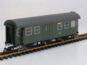 PIKO 37602 G-Umbauwg. 3yG-2.Kl.Gepäckabteil DB IV 36165 Metallrader,Speicher, innen beleuchtung