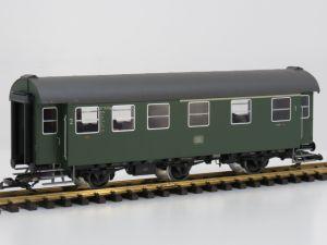 PIKO 37601 G-Umbauwg. 3yG-1./2.Kl. DB IV, Metallrader,Speicher, innen beleuchtung 18 Figuren