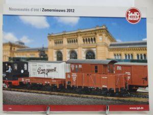 LGB Sommer Neuheiten 2012 Frans / Nederlands
