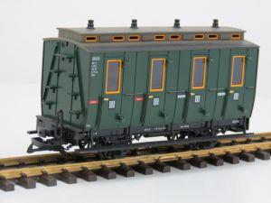 LGB 3050 D Abteilwagen der Norddeutschen Inselbahnen, Vitrinemodel