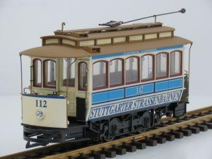 Bachmann 39-101 Tram Stuttgart Vitrinemodel