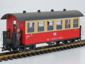 LGB 30730 DR/HSB-Personenwagen 900-454 KB, Metallrader