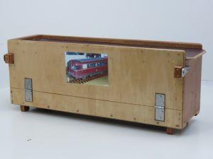 Transportkist 56x13x17cm Voor o.a. Piko Schienenbus #1