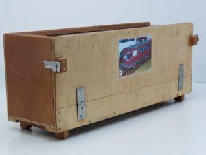 Transportkist 56x13x17cm Voor o.a. Piko Schienenbus #2