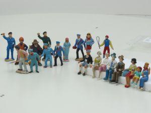 Set 20 Figuren Div