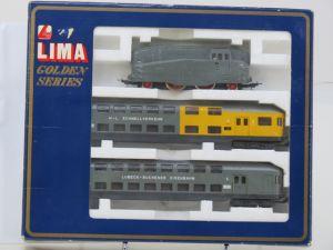 Schaal HO Lima Golden Series 149803 H-L Schnellverkehr Lubeck - Buchener Eisenbahn #62