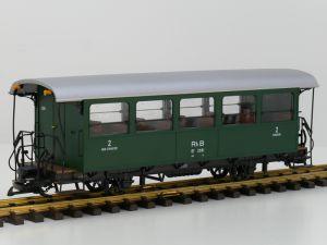 LGB 30553 RhB Personenwagen B2081, Vitrinemodel