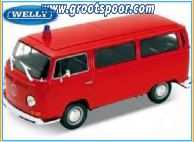 GSDCCwel 00022472 1972 Volkswagen bus T2 *Feuerwehr*, red