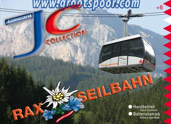 JAEGERNDORFER JC89292 Rax Seilbahn 2 gondel Handbetrieb