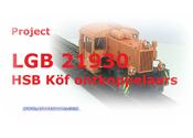 LGB 21930 HSB Köf met ontkoppelaars, mit Entkupplungen, with auto couplings